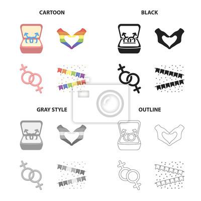 kreslené sexuální symboly
