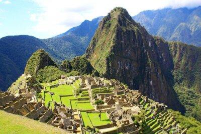 Fototapeta Tajemné město z Machu Picchu, Peru.