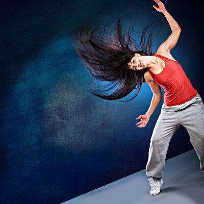 Fototapeta tanec dívka