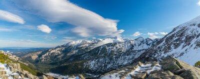 Fototapeta Tatra hory čarodějnice krásný mraky
