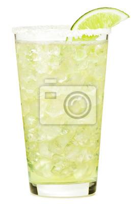 Fototapeta Tequila Margarita koktejl na bílém