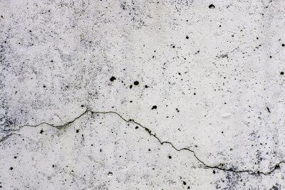 Fototapeta Textura di sfondo di un muro v cemento, con crepa che scorre orizzontalmente