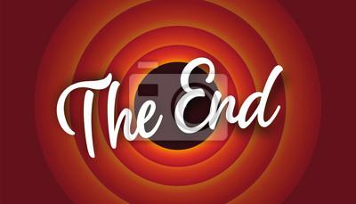 Fototapeta The end