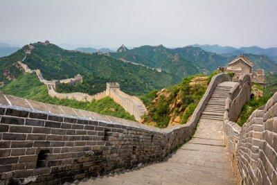 Fototapeta The Great Wall, Peking, Čína