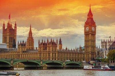 Fototapeta The Palace of Westminster