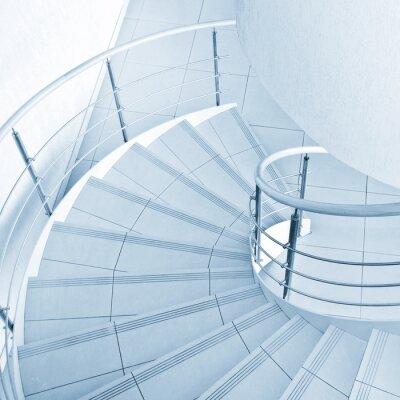 Fototapeta Točité schodiště