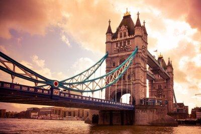 Fototapeta Tower Bridge Londýn, Velká Británie
