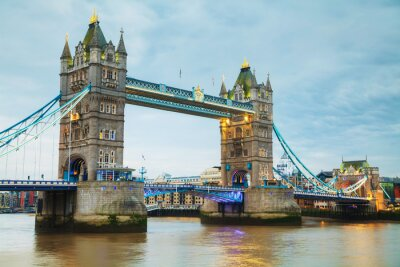 Fototapeta Tower bridge v Londýně, Velká Británie