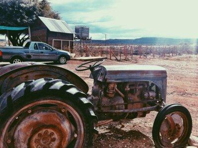 Fototapeta Traktor