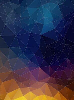 Fototapeta Triangle byt geometrické barevné pozadí