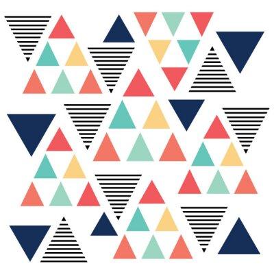 Fototapeta Triangle vzor barevná varianta