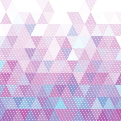 Fototapeta Trojúhelníky Pattern