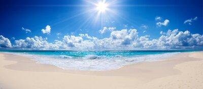 Fototapeta tropické pláže a moře - na šířku