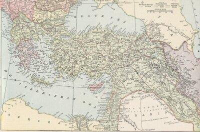 Fototapeta Turecká říše vinobraní