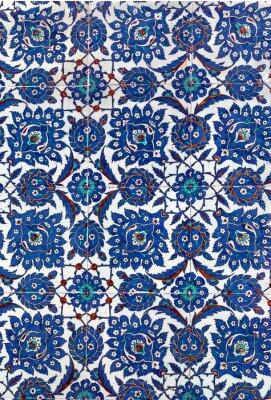Fototapeta Turecké keramická dlažba, Istanbul