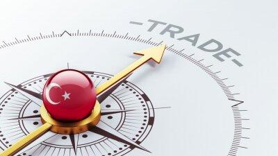 Turecko Trade Concept