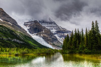 Fototapeta Turistika Berg Lake Trail