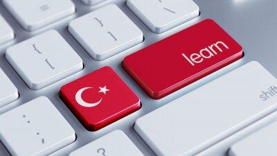 Turkey Learn Concept