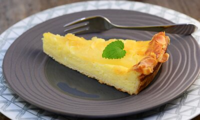 Fototapeta tvarohový koláč