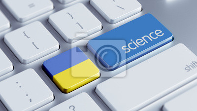 Ukrajina Science Concept