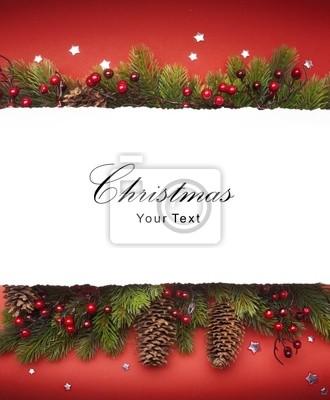 Umění Vánoce oznámení