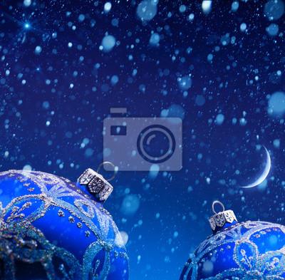Umění vánoční dekorace ve sněhu