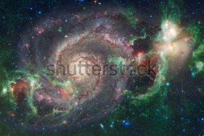Fototapeta Umění vesmíru. Mlhoviny, galaxie a jasné hvězdy v krásném složení. Prvky tohoto obrázku poskytnuté NASA