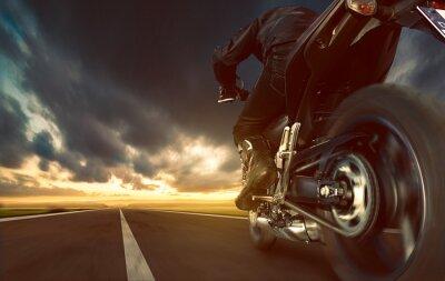Fototapeta Urychlení Motocykl