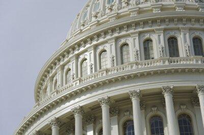 Fototapeta US Capitol detail dome