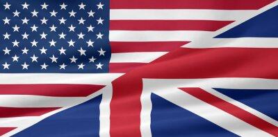 Fototapeta USA - Velká Británie - Flagge