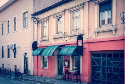 Fototapeta Úžasná retro atmosféra města Užhorod - kavárna