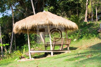 Fototapeta V zahradě je luxusní tropické letovisko