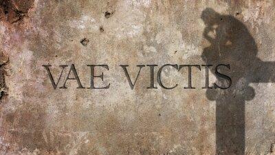 Fototapeta Vae Victis. Latinský výraz pro Běda poraženým
