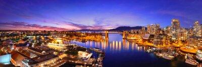 Fototapeta Vancouver přístav pohled