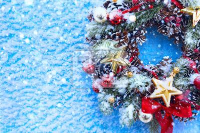 Vánoce a nový rok pozadí