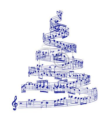 Výsledek obrázku pro obrázky noty vánoční
