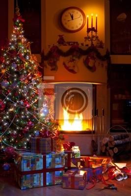 Vánoční výzdoba domů