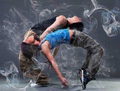 Fototapeta Vášeň taneční pár.