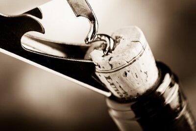 Fototapeta ve věku víno