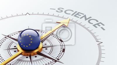 Věda Koncept Evropské unie
