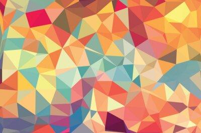 Fototapeta Vektorové geometrické tvary. Barevné pozadí. Textury pro použití v