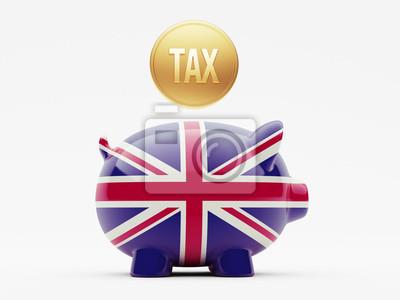 Velká Británie Daňové Concept