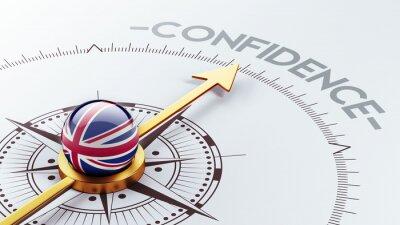 Velká Británie Důvěra Concept