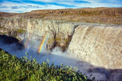 Fototapeta Velkolepý vodopád Dettifoss
