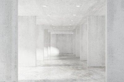 Fototapeta Velký prázdný loft