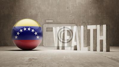 Venezuela. Bohatství Concept.