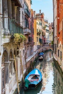 Fototapeta Venice. Urban canal