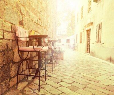 Fototapeta Venkovní kavárna