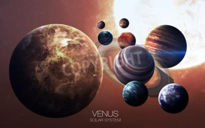 Fototapeta Venus - obrazy s vysokým rozlišením představuje planet sluneční soustavy.