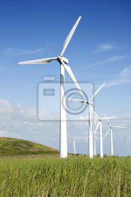 Fototapeta Větrné turbíny